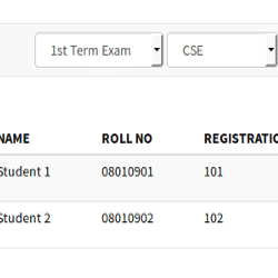 Easy Student Resutls