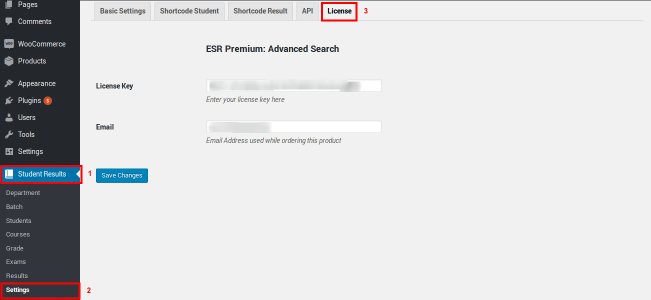 Easy Student Results : Advanced Search